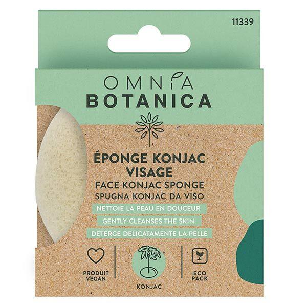 Omnia Botanica Bien-Être et Spa Éponge Konjac Visage