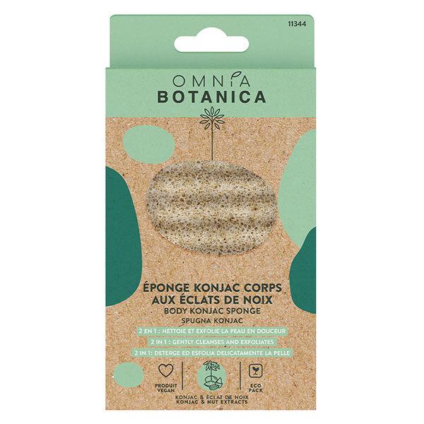 Omnia Botanica Bien-Être et Spa Éponge Konjac Corps Noix