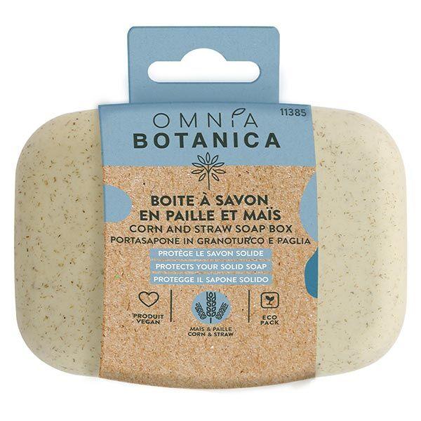 Omnia Botanica Hygiène Zéro Déchet Boîte à Savon