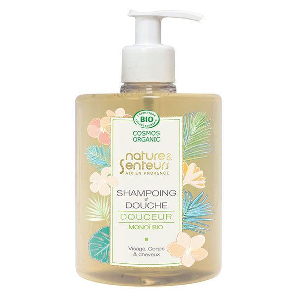 Horizane Nature & Senteurs Shampoing & Douche Douceur Monoï Bio 500ml