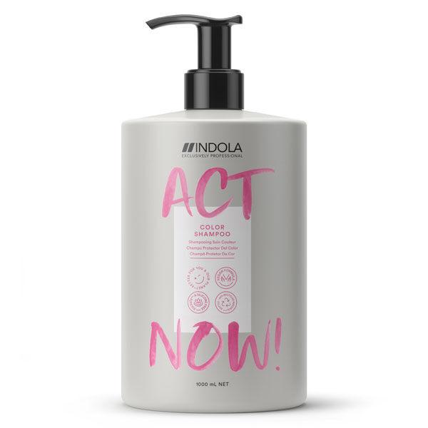 Act Now Shampooing Cheveux Colorés 1L