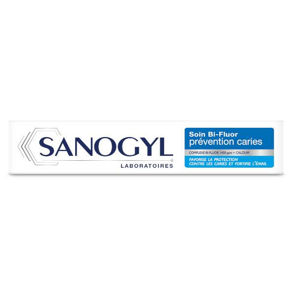Sanogyl Dentifrice Soin Bi-Fluor Prévention Caries 75ml