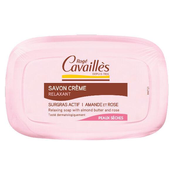 Rogé Cavailles Savon Crème Beurre d'Amande et Rose 115g