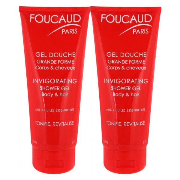 Foucaud Duo Gel Douche Grande Forme Lot de 2 x 200ml