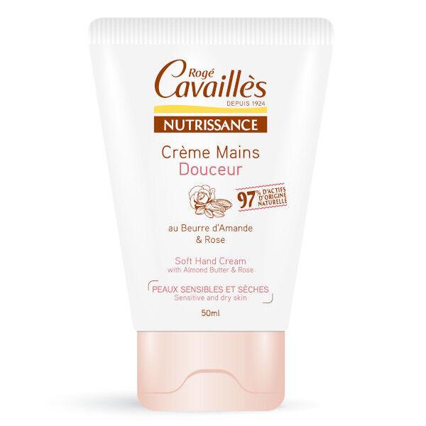 Rogé Cavaillès Crème Mains Douceur Amande et Rose 50ml