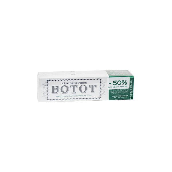 Botot Dentifrice Vert Lot de 2 x 75ml