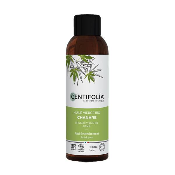 Centifolia Huile Végétale Vierge Biologique Chanvre 100ml