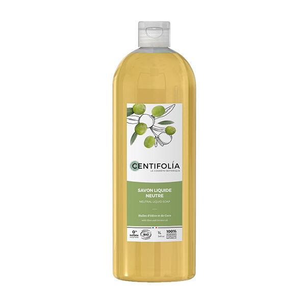 Centifolia Savon Liquide Neutre Huile d'Olive et de Coco 1L