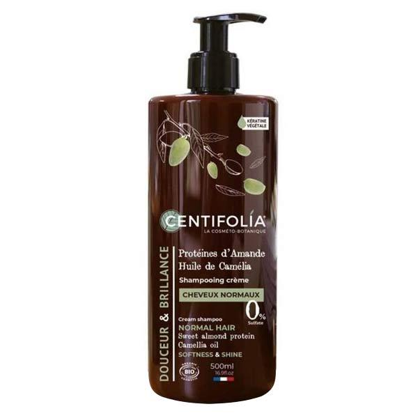 Centifolia Cheveux Shampooing Crème Cheveux Normaux Bio 500ml
