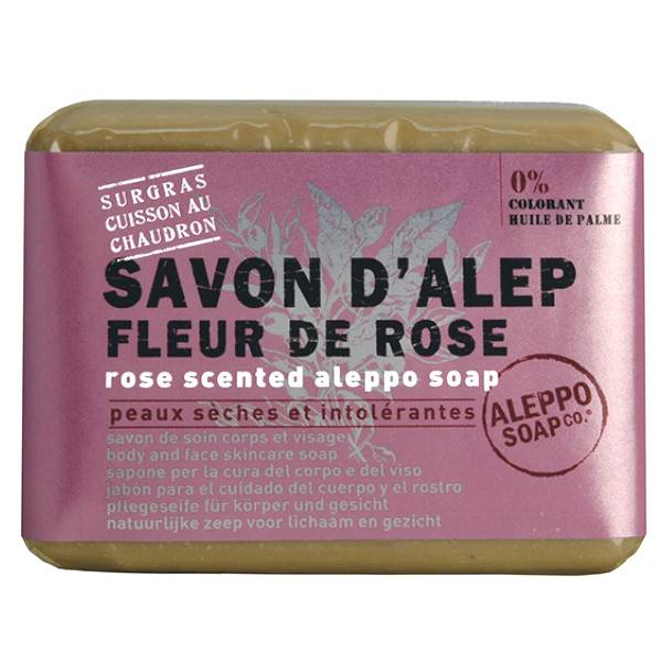 Tadé Savon Alep Fleur de Rose 100g