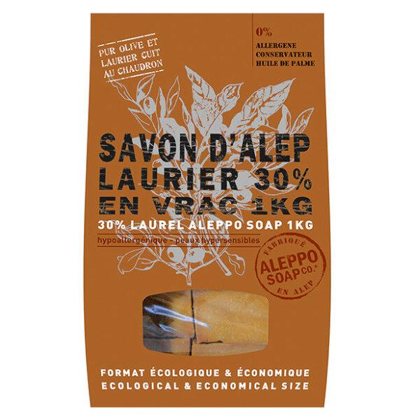 Tadé Savon Alep Laurier 30% Vrac 1kg