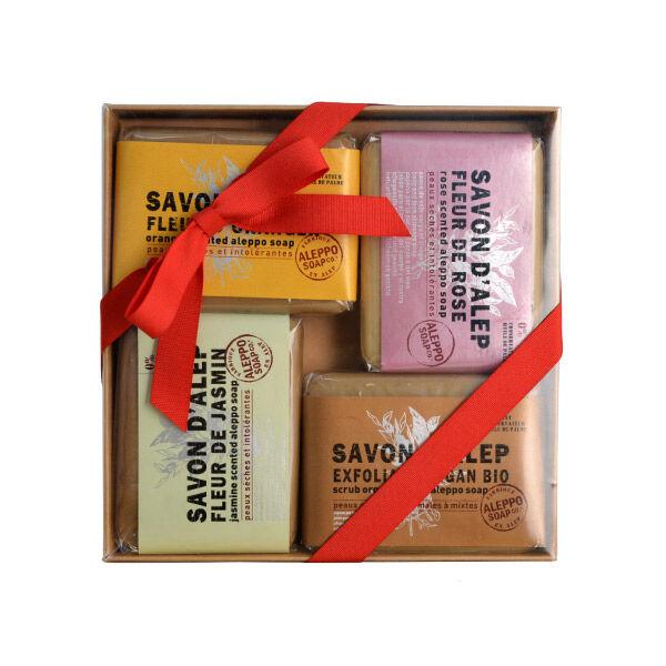 Tadé Edition Limitée Coffret 4 Savons d'Alep Parfumés
