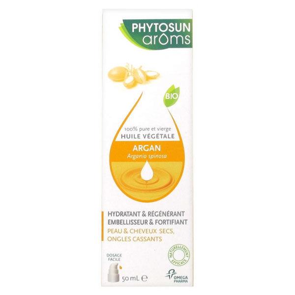 Phytosun Aroms Huile Végétale Argan Bio 50ml