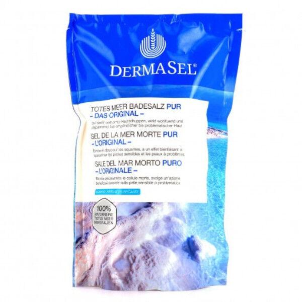 Dermasel Sel de la Mer Morte pour Bain Pur L'Original 500g