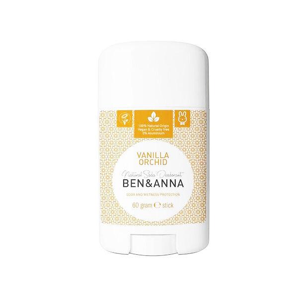 Ben & Anna Déodorant Stick Vanille Orchidée 60g