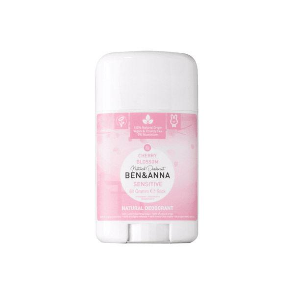 Ben & Anna Déodorant Stick Sensitive Cherry Blossom 60g