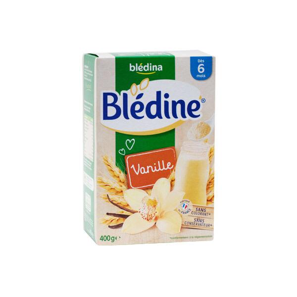 Blédina Blédine Céréales Blé & Vanille +6m 400g