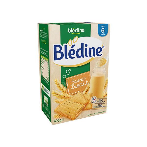Blédina Blédine Céréales Saveur Biscuit +6m 400g