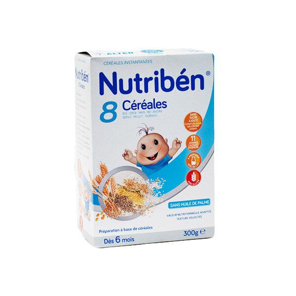 Nutriben Nutribén 8 Céréales +6m 300g