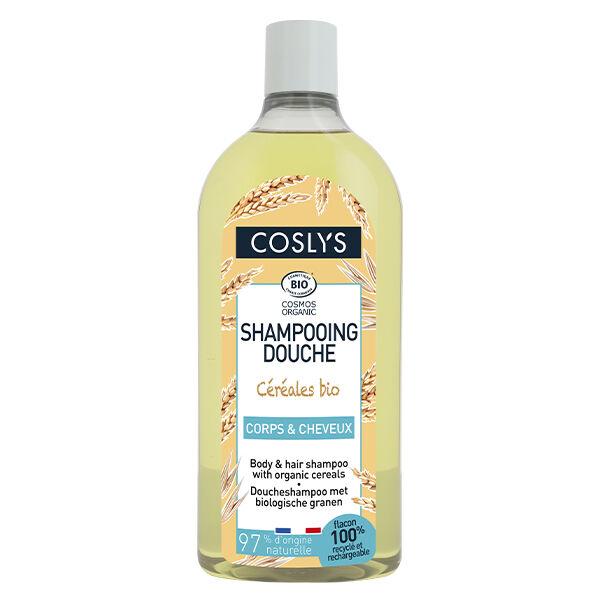 Coslys Shampooing Douche Céréales Bio 750ml
