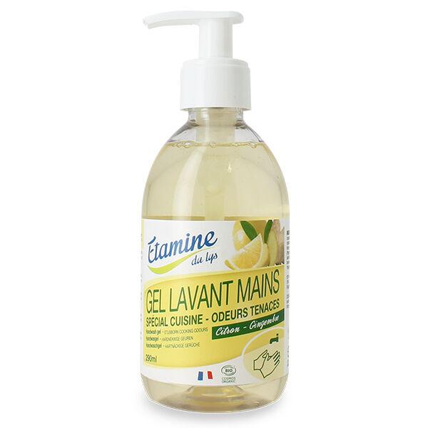 Etamine Du Lys Étamine du Lys Gel Lavant Mains Citron-Gingembre Bio 290ml