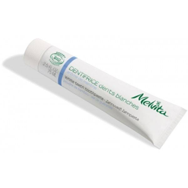 Melvita - Les Essentiels - Dentifrice Dents Blanches 75ml