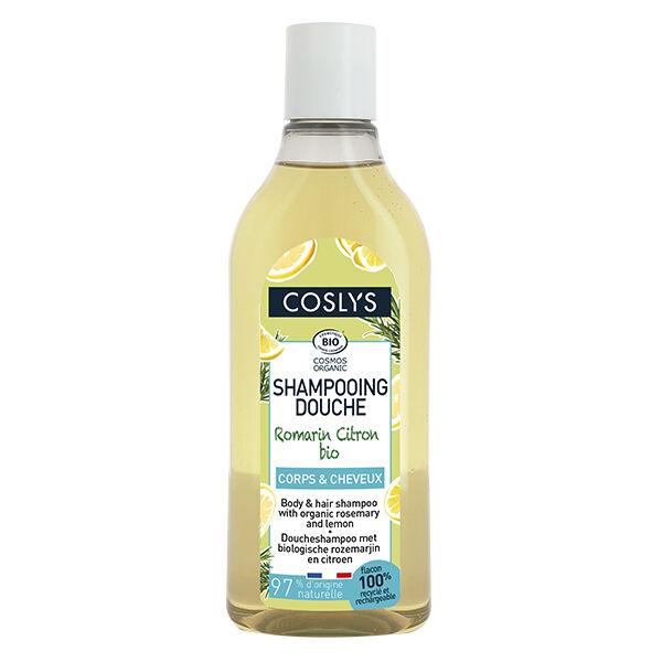 Coslys Shampooing Douche Romarin Citron Bio 250ml