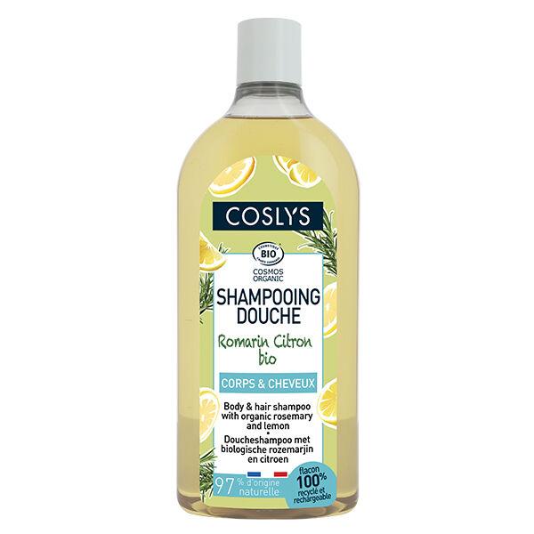 Coslys Shampooing Douche Romarin Citron Bio 750ml