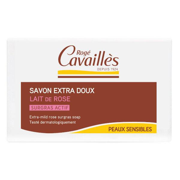 Rogé Cavaillès Savon Surgras Extra Doux Lait de Rose 150g