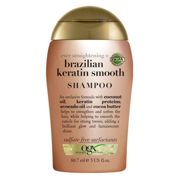 OGX Shampooing Kératine Brésilienne 88,7ml
