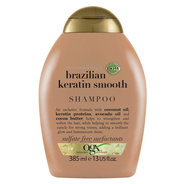 OGX Shampooing Kératine Brésilienne 385ml