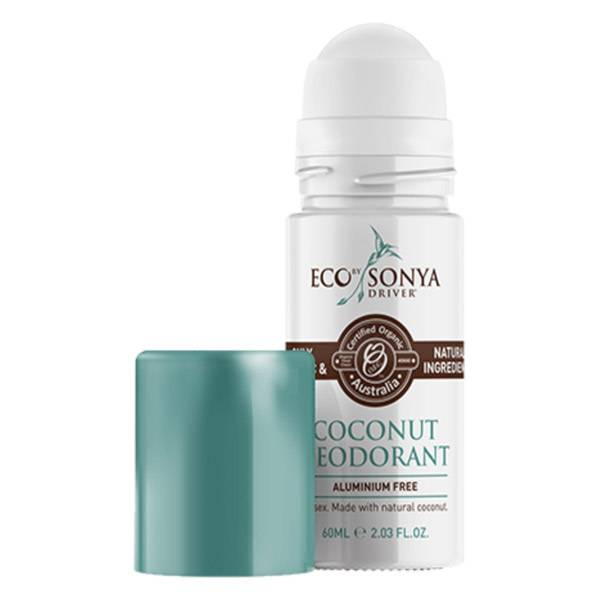 Eco By Sonya Driver Deodorant Roll On Noix de Coco 60ml