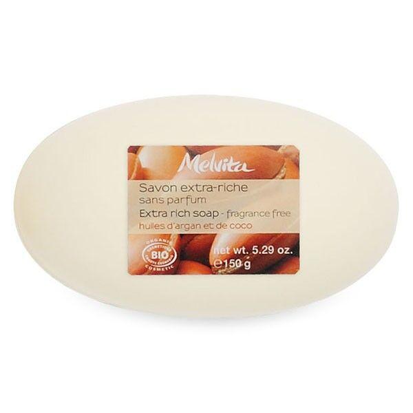 Melvita Savon Bio Extra Riche Sans Parfum 150g