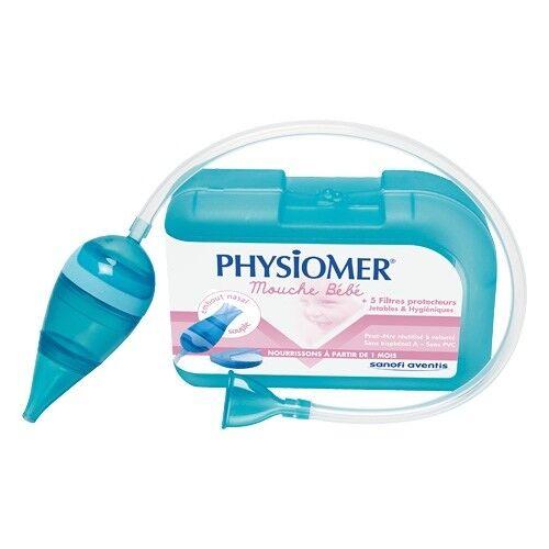 Physiomer Mouche Bébé + 5 Filtres Protecteurs