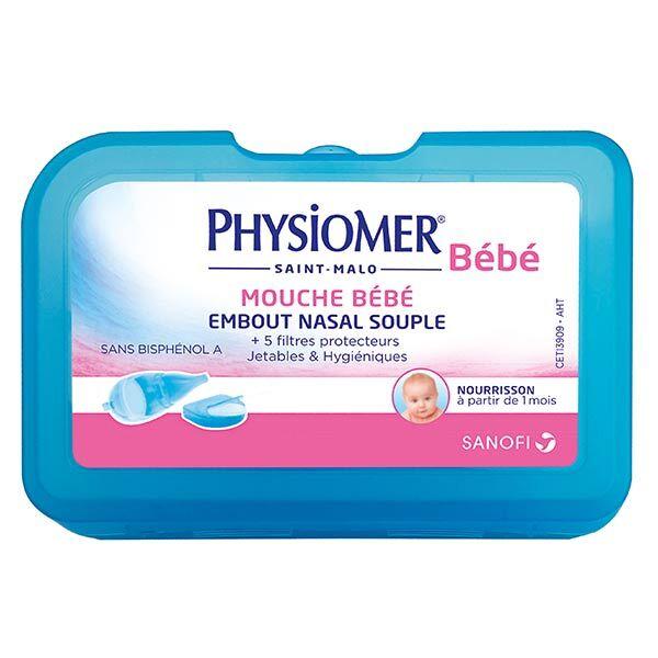 Sanofi Aventis Physiomer Mouche Bébé + 5 Filtres Protecteurs