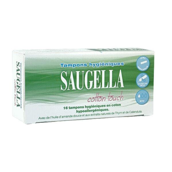 Saugella Cotton Touch Mini Tampons boite de 16