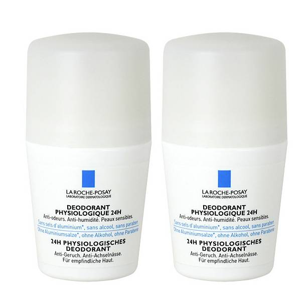 La Roche Posay Déodorant Physiologique 24H Bille Lot de 2 x 50ml