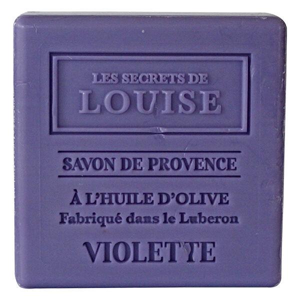 Les Secrets de Louise Savon de Provence Violette 100g