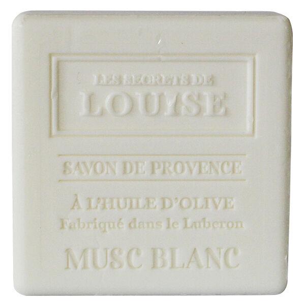 Les Secrets de Louise Savon de Provence Musc Blanc 100g