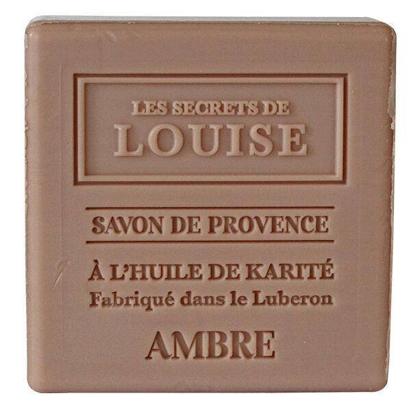 Les Secrets de Louise Savon de Provence Ambre 100g