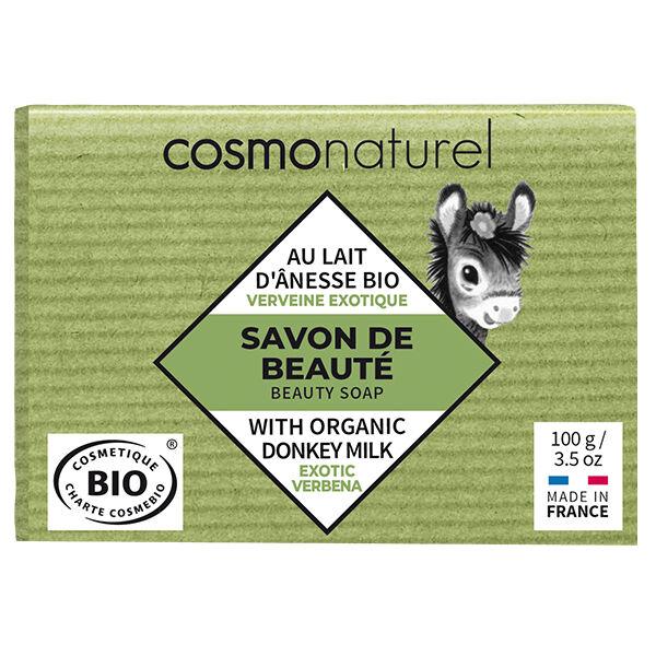 Gravier Cosmo Naturel Savon Lait d'Ânesse Verveine Exotique Bio 100g