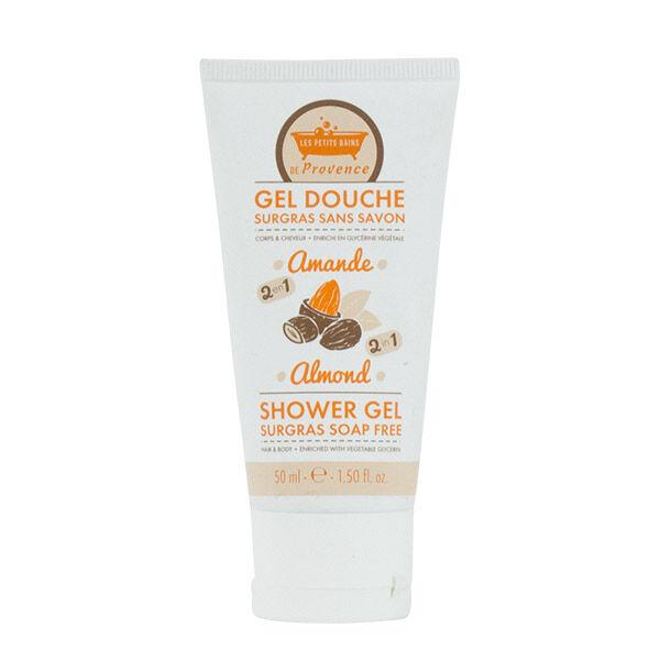 Les Petits Bains de Provence Gel Douche Surgras sans savon Amande 50ml