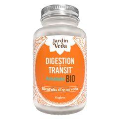 Jardin Veda Bienfaits d'Ayurveda Digestion & Transit Bio 60 gélules