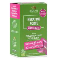Biocyte Kératine Forte Anti-Chute Lot de 120 gélules <br /><b>41.07 EUR</b> Santédiscount