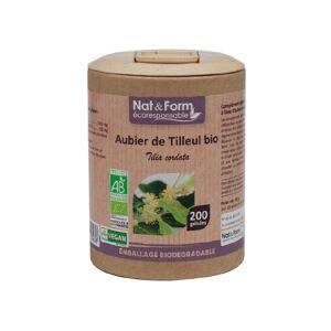 Nat & Form Eco Responsable Aubier de Tilleul Bio 200 gélules - Publicité