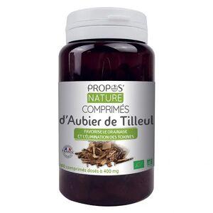 Propos'Nature Propos' Nature Aubier de Tilleul Bio 180 comprimés - Publicité