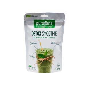 Purasana Détox Smoothie Élimination et Vitalité Vegan 150g - Publicité
