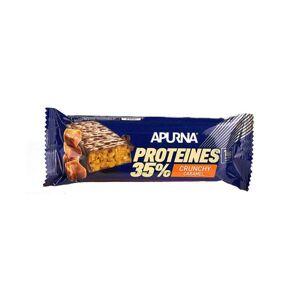 Apurna Barre Hyperprotéinée Crunchy Caramel 45g - Publicité