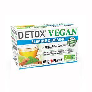 Eric Favre Tisane Detox Vegan Citron 20 sachets - Publicité