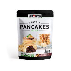 Eric Favre Protéines Pancakes Choco Banane 1kg - Publicité